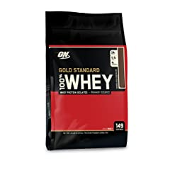 Optimum Nutrition 100% Whey Gold Standard 10 Pound Packaging May Vary