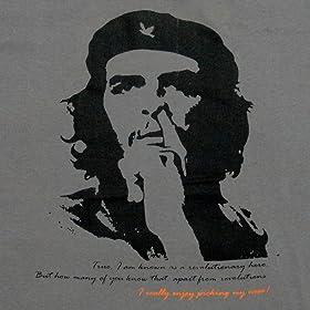 平和的チェ・ゲバラ Tシャツ グレー (Lサイズ)