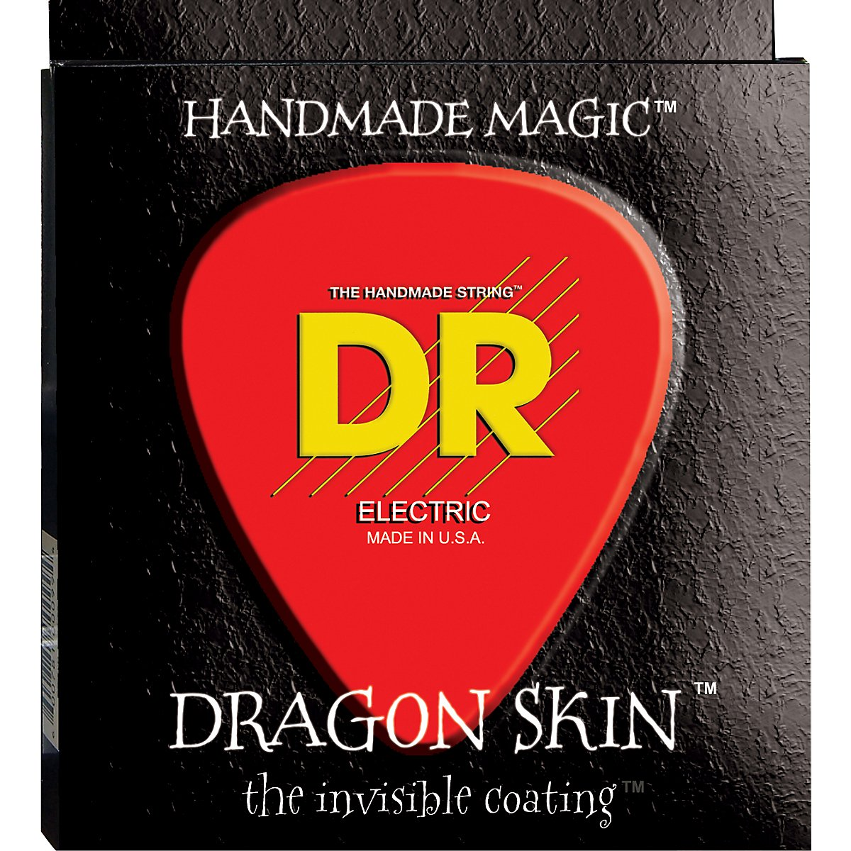 DR Handmade Strings DSE-10 DR Dragon Skin Electric with K3 technology Coating, Medium 10-46 dr strings nmcb 40 nmcb 45 nmcb5 45 dr k3 neon bass guitar strings light multi color