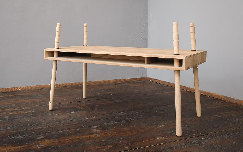 natur Eiche CASPAR von perludi Schreibtisch Tisch ab 3 Jahre – Erwachenser online bestellen