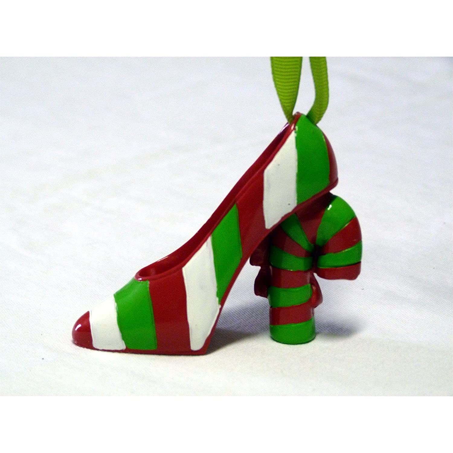 Candy Cane Heel Christmas Ornament
