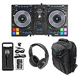 Hercules DJControl JogVision USB Serato DJ Controller+Headphones+Mic+Backpack