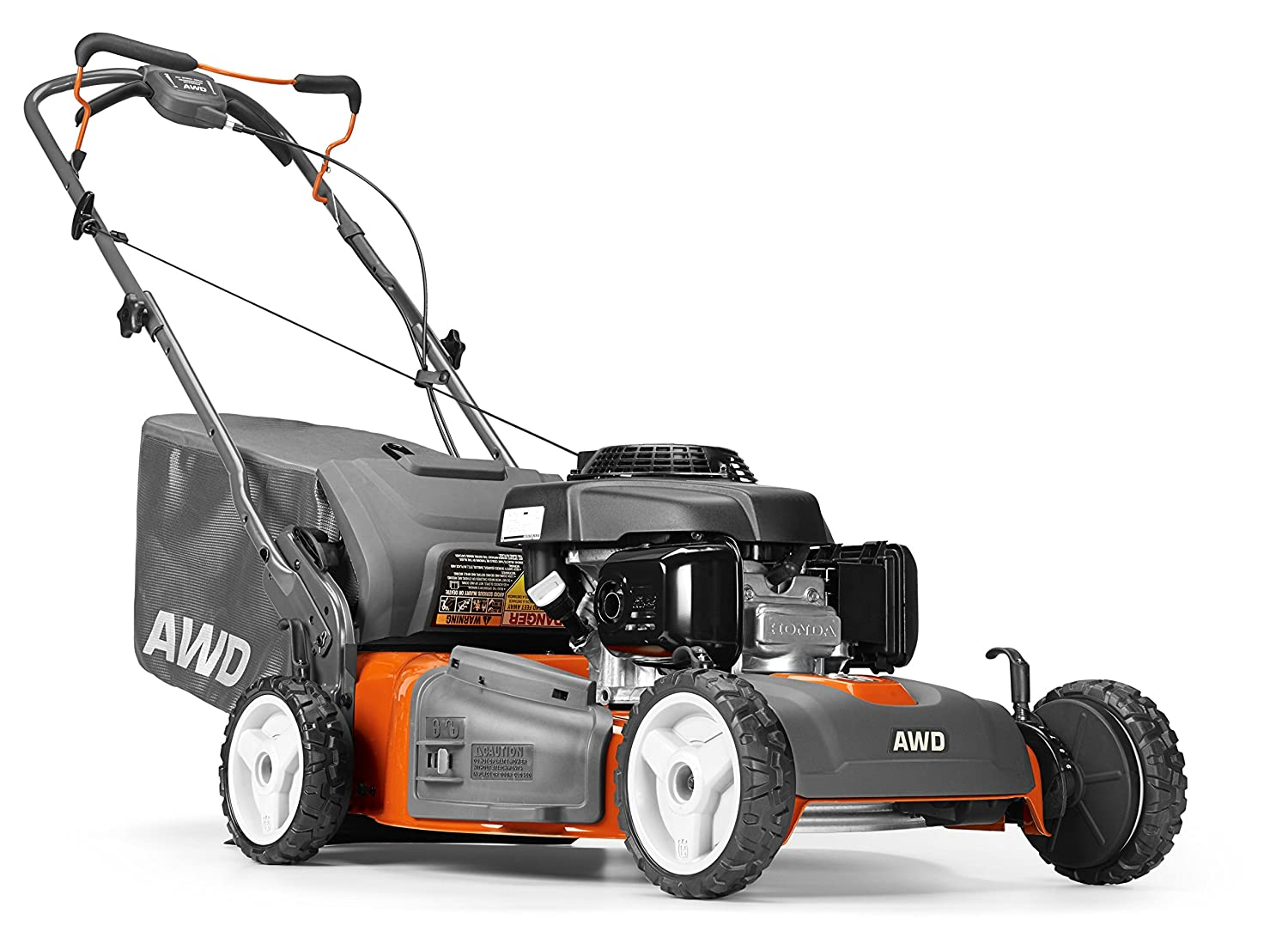 Husqvarna 961450020 HU700AWD Honda GCV160cc 3-in-1 All Wheel Drive 4X4 Mower in 22-Inch Deck
