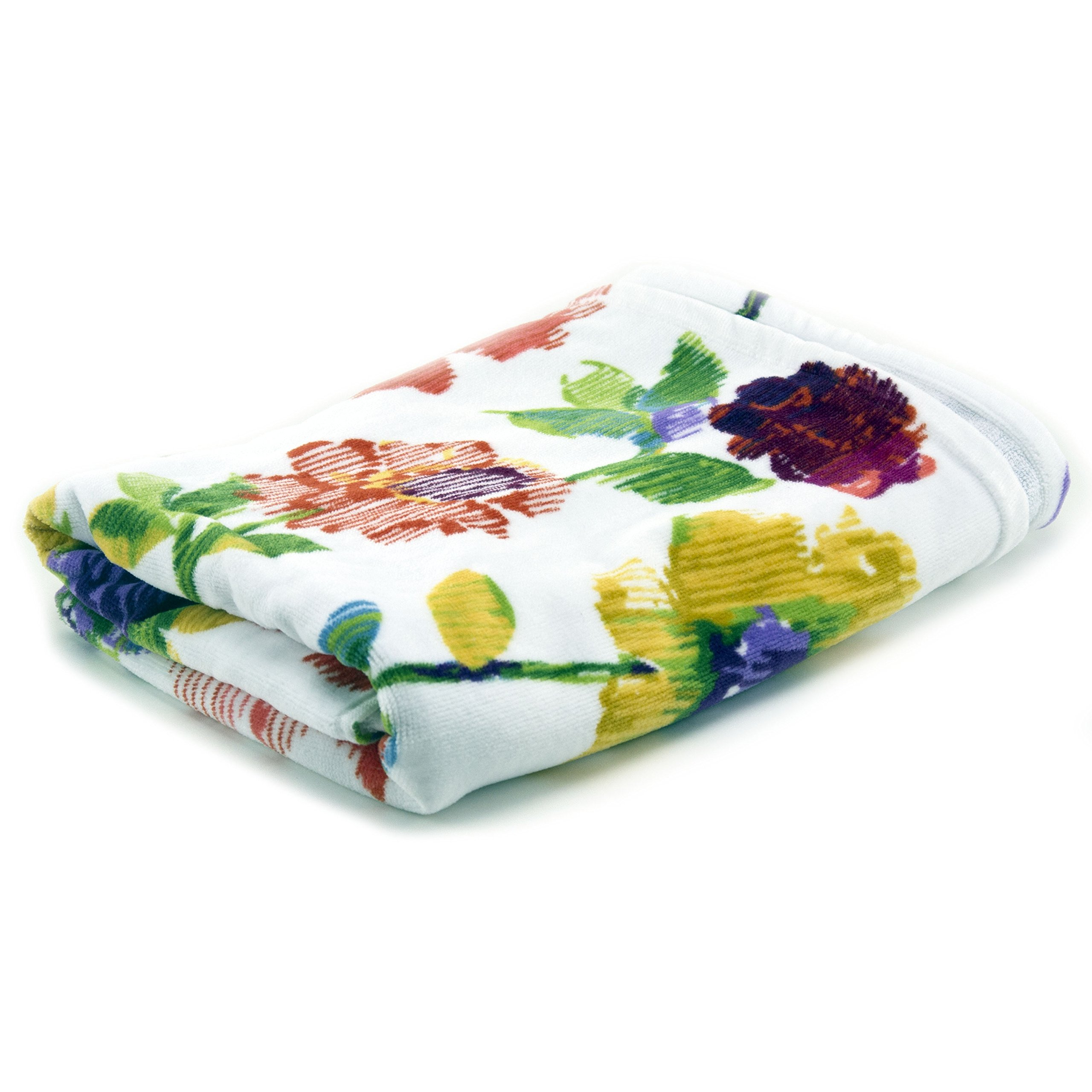 Lenox Garden Graffiti Printed Bath Towel