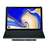 Samsung Electronics EJ-FT830UBEGUJ Galaxy Tab S4 Book Cover Keyboard, Black (Color: black)