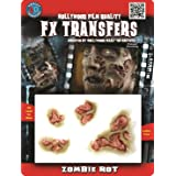 Tinsley Transfers  Zombie Rot, Flesh/Multi, One Size (Color: Flesh/Multi, Tamaño: One Size)