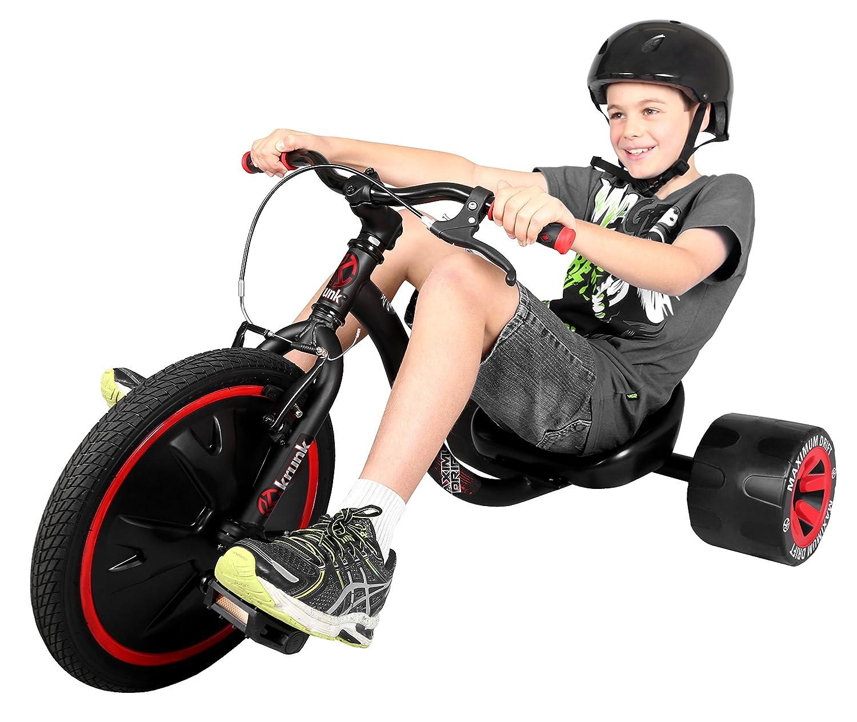 Authentic sports & toys Krunk 290, triciclo sportivo a pedali per bambini e ragazzini