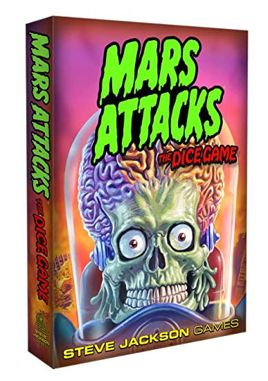 Jeu de dés Mars Attacks