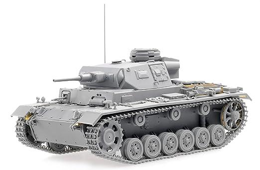 Dragon - D6642 - Maquette - Panzer III AUSF H Produciton Tardive - Echelle 1:35