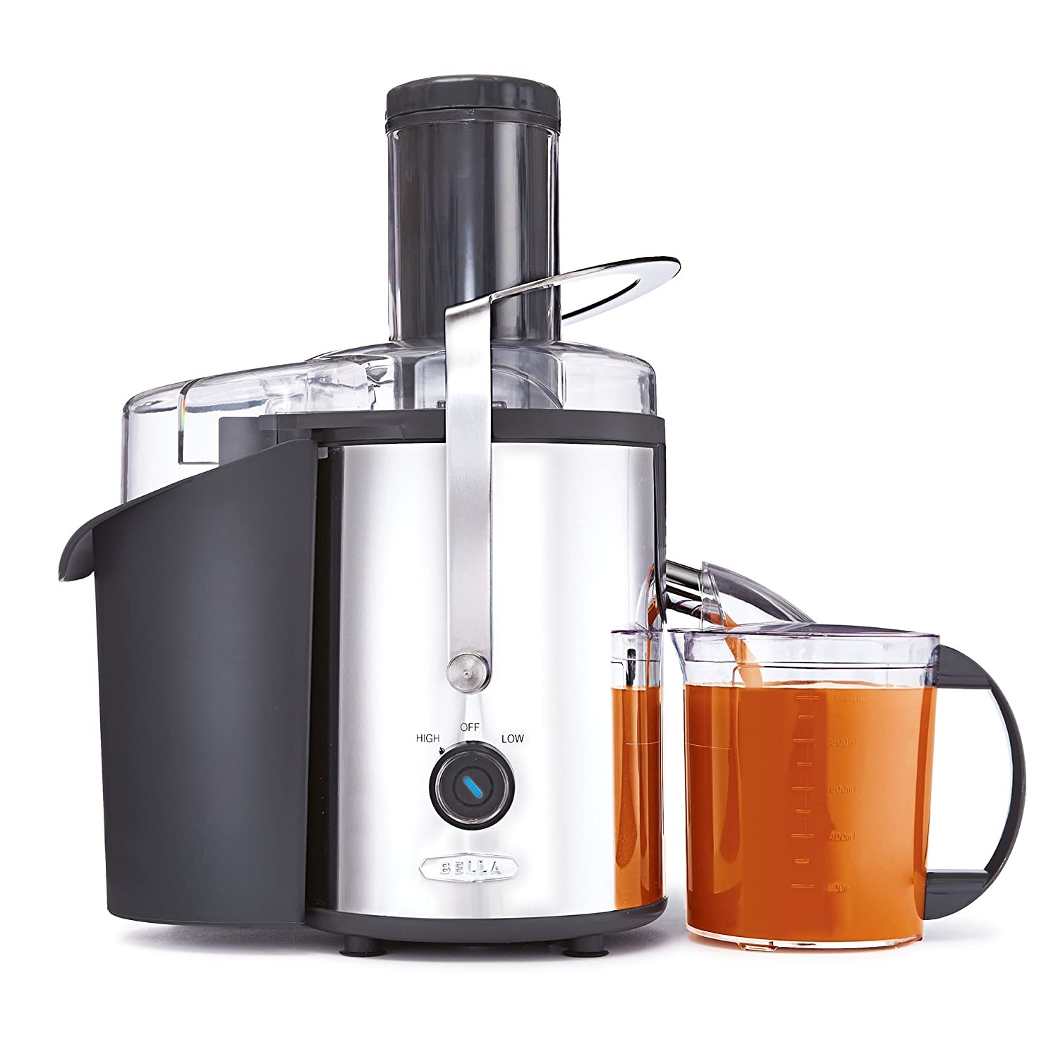 BELLA 13694 High Power Juice Extractor, Stainless Steel