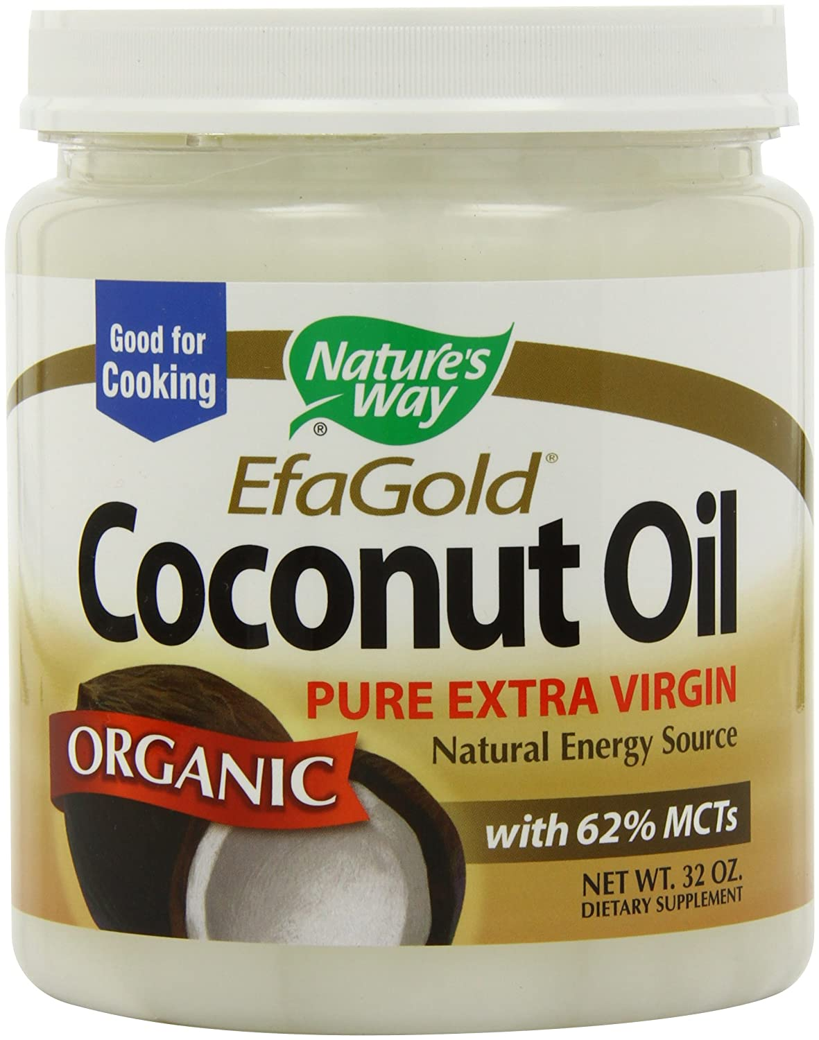 Amazon - Nature's Way Organic Coconut Oil - 32oz - $13.89
