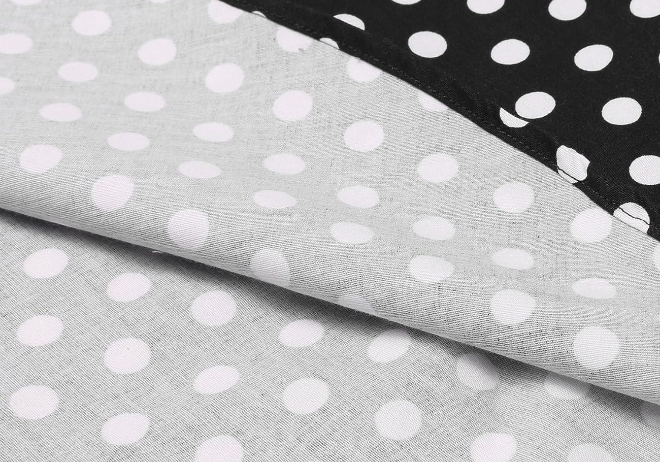 ACEVOG Women's Vintage 50s Elegant Polka Dot Formal Casual Party Dress 5