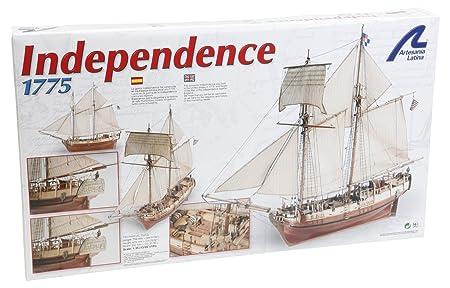 Maquette en bois - Independence 1775