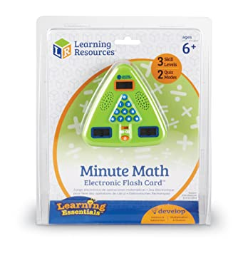 Learning Resources Carte Flash Électronique Minute De Maths De -