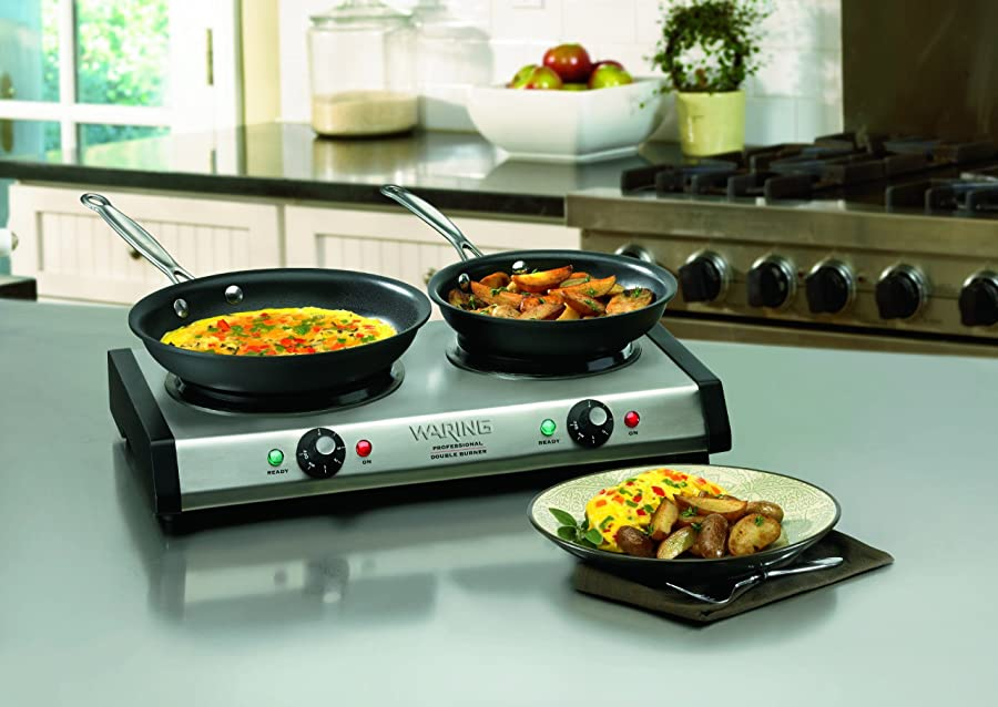 Waring DB60 Portable Double Burner via Amazon