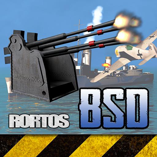 Battleship Destroyer front-137420