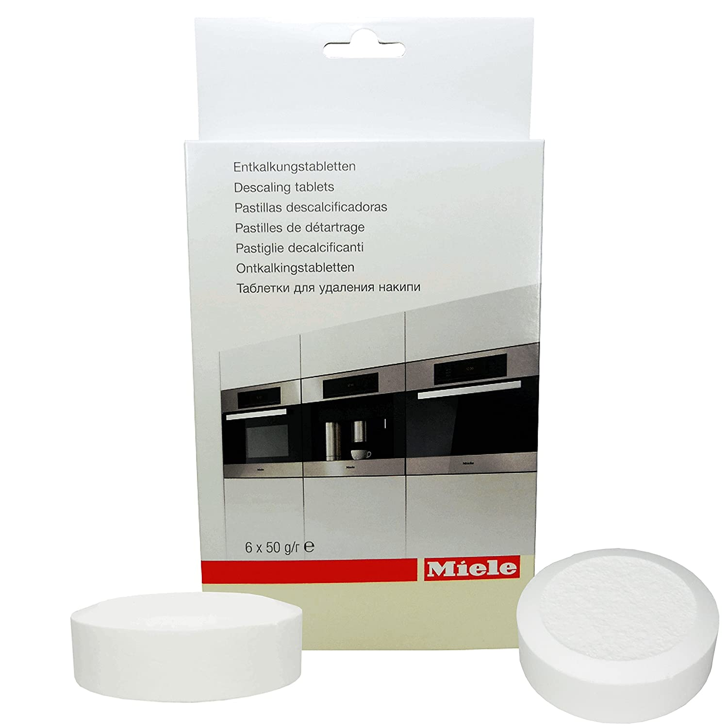1 x original 1x6 entkalkertabletten entkalker tabs kaffeevollautomat miele 56260 ebay. Black Bedroom Furniture Sets. Home Design Ideas