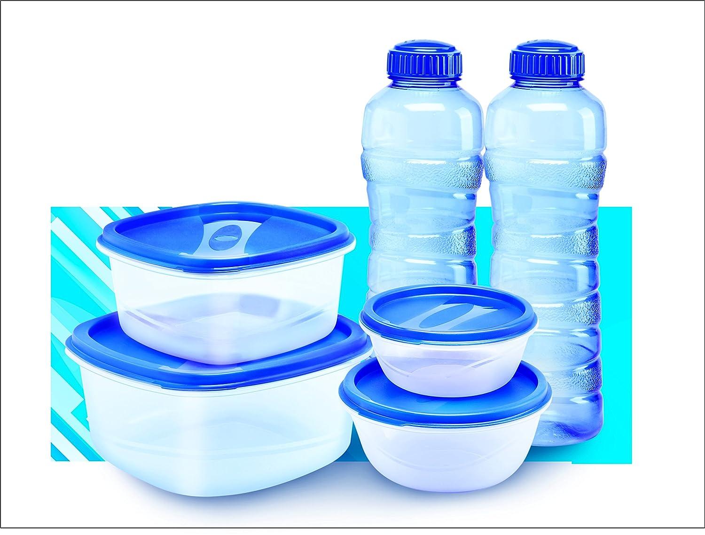 Princeware Container Set, Set of 6, Blue