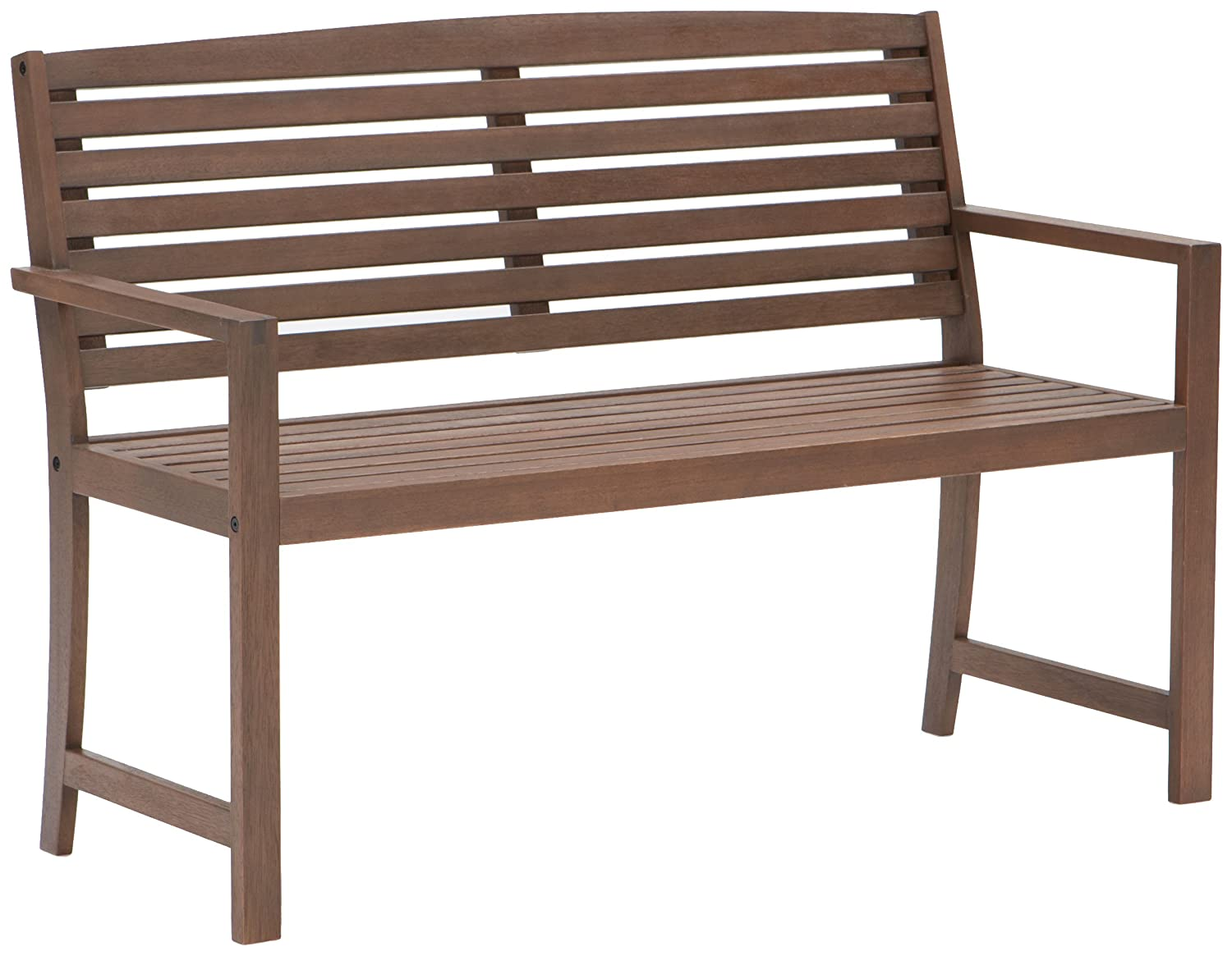 Wood patio bench home decor and furniture deals for Outdoor furniture deals