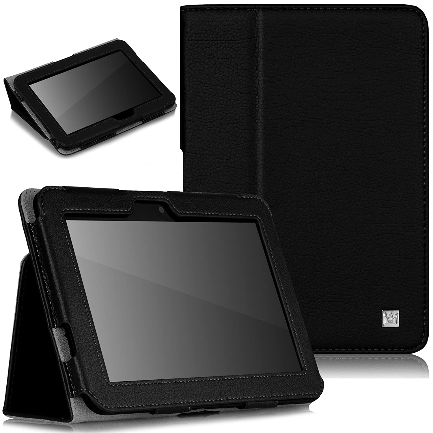 CaseCrown Bold Standby Case (Black) for Amazon Kindle Fire HD 7 Inch (Built-in magnet for sleep / wake feature) $7.99