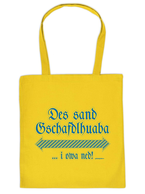 Mega Coole Bayerische Tragetasche – Boarische Redensarten – Des sand Gschafdlhuaba /Goodman Design günstig online kaufen