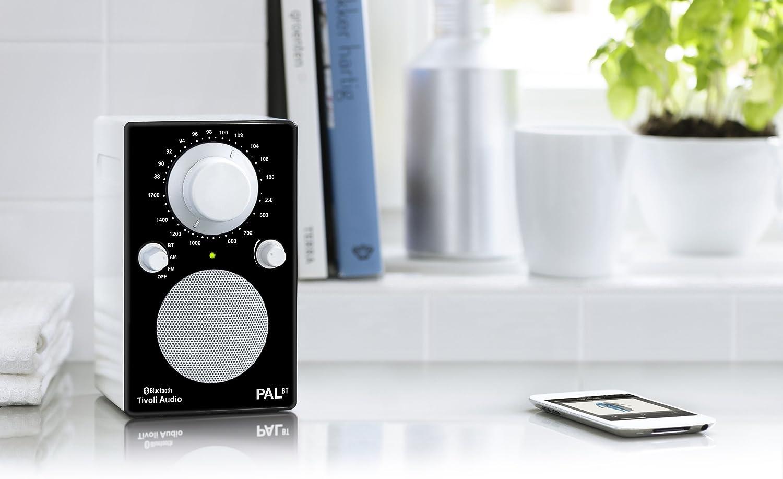 Tivoli Audio PALBTGB PAL BT - Bluetooth Portable AM/FM Radio tivoli audio pal bt glossy blue white
