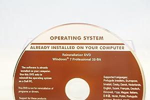 reinstallation dvd windows 7 dell