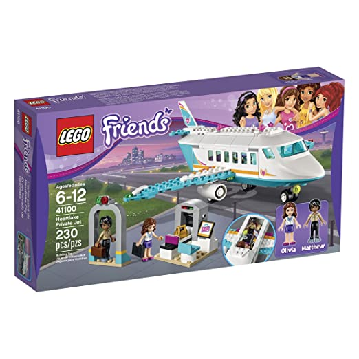 This is on my Wish List: LEGO Friends 41100 Heartlake Private Jet Building Kit: Toys & Games