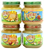 Earth's Best Organic Fruit Variety Pack, 4 Ounce Jars (Pack of 12)