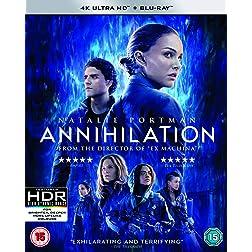 Annihilation [4K Ultra HD + Blu-ray]