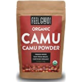 Organic Camu Camu Powder - 7oz Resealable Bag - 100% Raw From Brazil - by Feel Good Organics (Tamaño: 7 Ounce Value Size (198g))