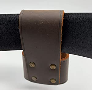 Endeavor Premium Leather Hammer Axe Hatchet Holder with Belt Loop (Fits All Models with Non-bulky Holder)