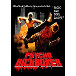 Psycho Kickboxer & Canvas of Blood Psycho-Horror Double Feature