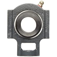 Browning VTWE 200 Series Ball Bearing Take-Up Unit, Standard Duty, Eccentric Lock, Non-Expansion, Regreasable, Contact and Flinger Seal, Cast Iron, Inch