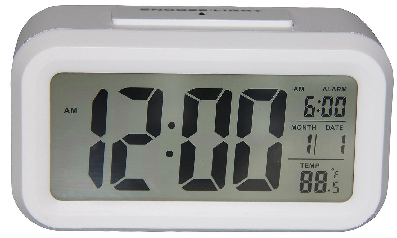 Digital Alarm Clock Bedroom Clock Temperature Display Snooze – Bedroom Clock
