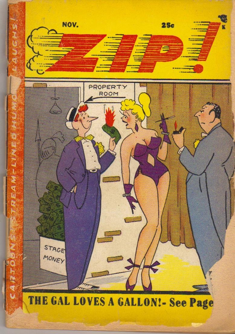Zip! November 1956 Martin Filchock, Ed Case, Alfred Rosenberg and J. Oakes