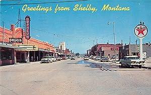 Shelby Montana Street Scene