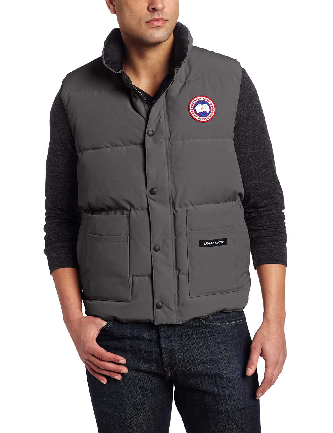 Tom Hardy And Canada Goose Freestyle Vest