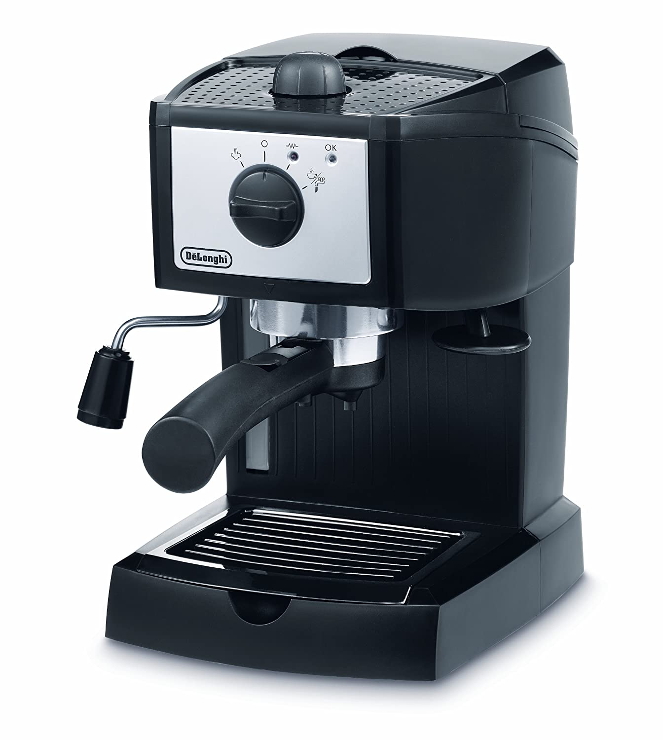 NEW DELONGHI EC152CD ESPRESSO COFFEE MACHINE WITH MILK FROTHER eBay