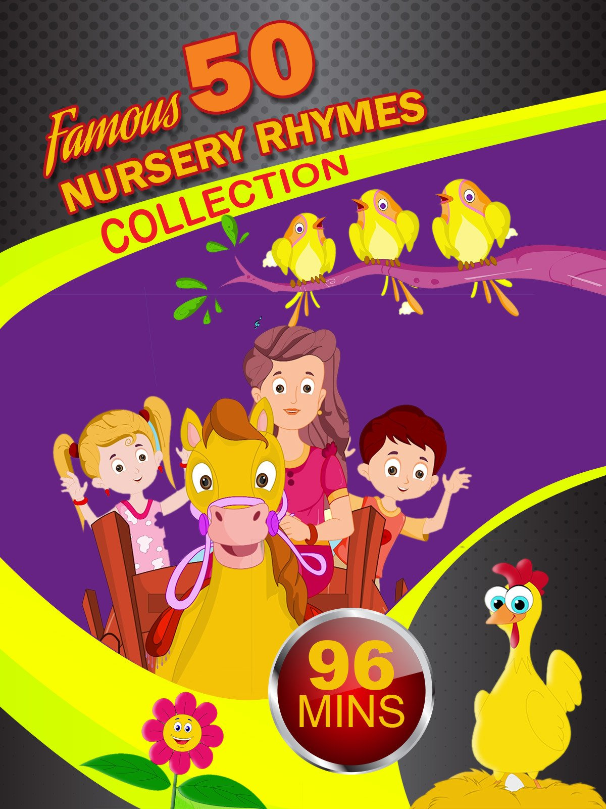 Famous 50 Nursery Rhymes Collection