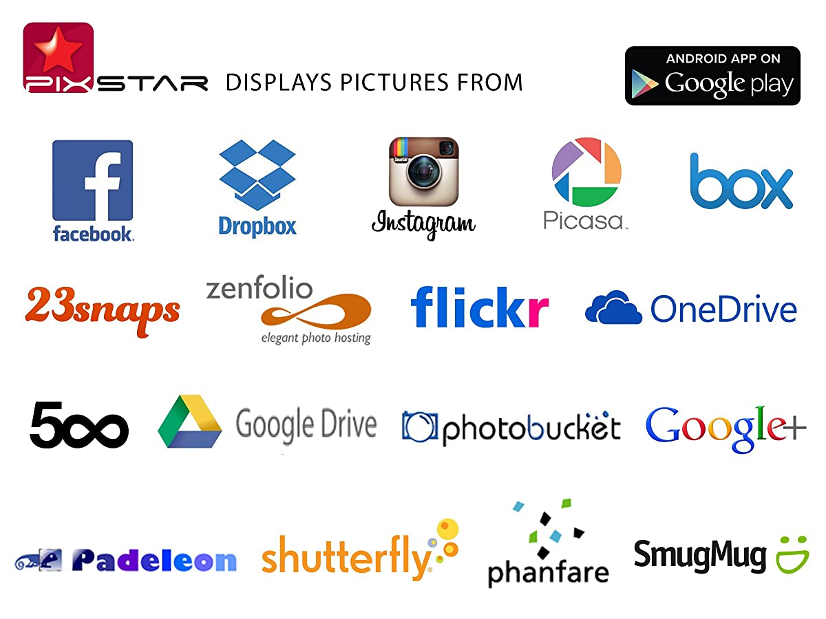 Pix star 104 inch wi fi cloud digital photo frame fotoconnect xd pix star 104 inch wi fi cloud digital photo frame fotoconnect xd with email online providers jeuxipadfo Images