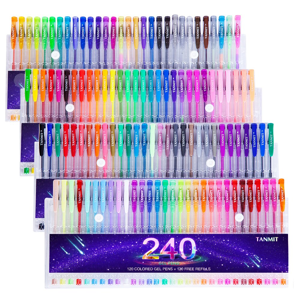 Tanmit Color Gel Pens