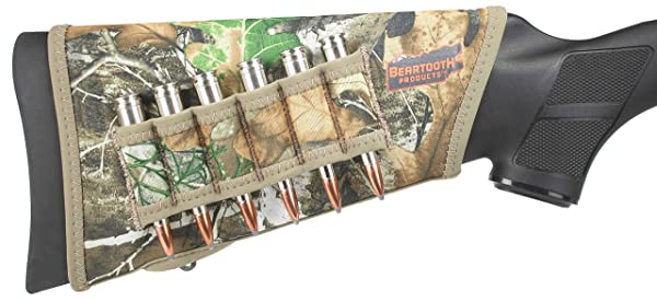 Beartooth StockGuard 2.0 - Premium Neoprene Gun Stock Cover - Rifle Model (Realtree Edge) (Color: Realtree Edge)