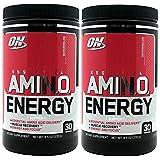 Optimum Nutrition Essential Amino Energy - Watermelon 9.5 oz (Pack of 2) ,30 Servings each