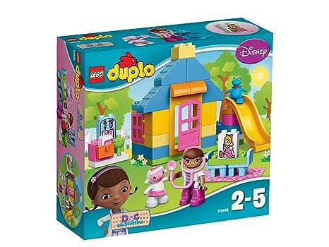 LEGO - 10606 - DUPLO - Jeu de Construction - La Clinique de Docteur la Peluche