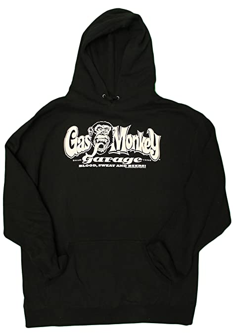 Fast N' Loud Gas Monkey Garage Blood, Sweat, and Beers Mens Graphic Hoodie