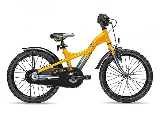 s'cool XXlite 18-3 - Vélo enfant - gris/orange 2016 velo enfant 12 pouces