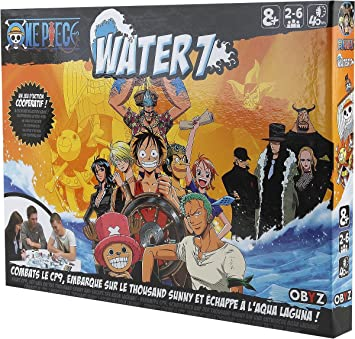 Jeu de plateau ONE PIECE Water 7 battle