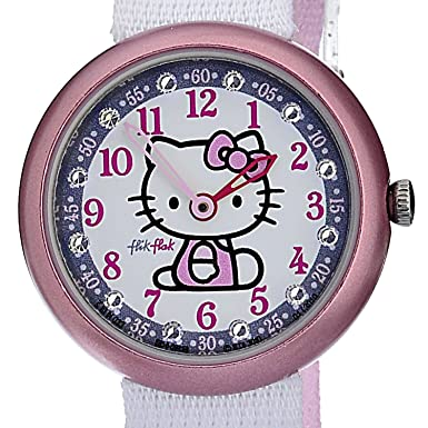 Swatch Children's Watch Hello Kitty White