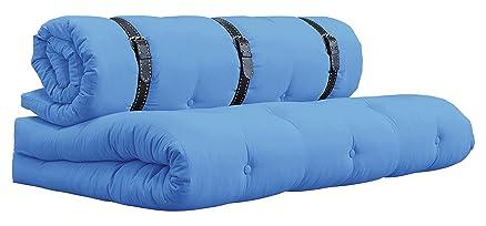 Karup Buckle Up Sofa Divano Divanoletto, Cottone/Poliestere, Blu Orizzonte 739, 95 x 140 x 68 cm
